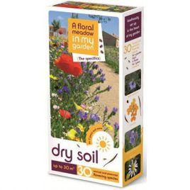Для сухих грунтов на 30 кв. м семена цветочной смеси (Nova Flore)