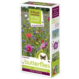 Бабочки друзья сада семена цветочной смеси (Nova Flore)