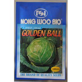 Голден Бол F1 семена капусты б/к ультраранней 48-53 дн. 0,8-1,5 кг окр. (NongWoo Bio)