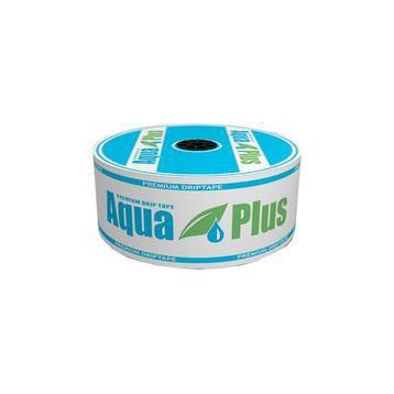 Капельная лента 10 mil через 10 см, вылев 750 (AquaPlus)