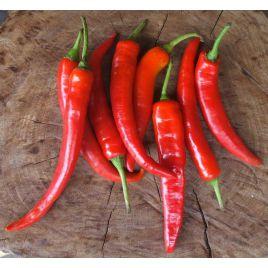 Язык дракона семена перца горького раннего 97-105 дн. удлинен. 50гр. 4 мм зел./красн. (Элитный ряд)