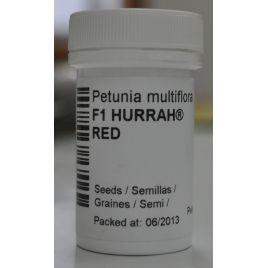 Селебрети F1 красная семена петунии мультифлора (Benary)