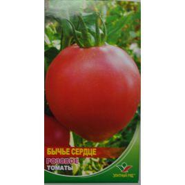 Бычье сердце розовое семена томата индет. среднего 105-110 дн. сердц. 400 гр. роз. (Элитный ряд)