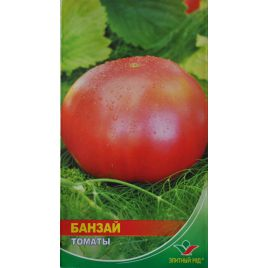 Банзай семена томата дет. среднего окр.-припл. 150-200 гр. роз. (Элитный ряд)