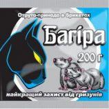 Багира парафиновый брикет родентицид (Укравит)