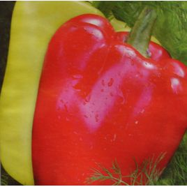 Степаша семена перца сладкого тип Ламуйо раннего 100 дн. удл.куб. 120г. желт./красн. (Элитный ряд)