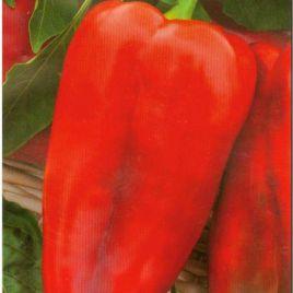 Самурай F1 семена перца сладкого тип Венгерский среднего 115-120 дн. конич. 300-350гр. 19х12см зел./красн. (SAIS)