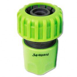 Коннектор зеленый 5819G для шланга диаметром 3/4 б/ст (Presto-PS)