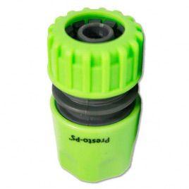 Коннектор зеленый 5809G для шланга диаметром 1/2 б/ст (Presto-PS)