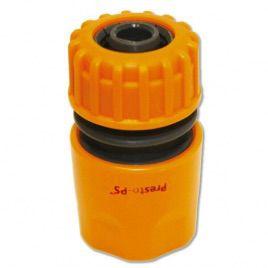 Коннектор оранжевый 5809 для шланга диаметром 1/2 б/ст (Presto-PS)
