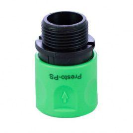 Коннектор 4020 для шланга 3/4 с наружной резьбой (Presto-PS)