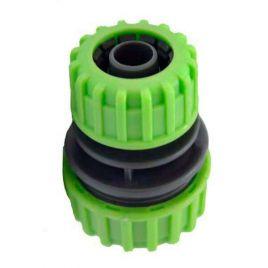 Соединение для шланга 5708G зеленый диаметром 1/2 и 3/4 (Presto-PS) НЕТ ТОВАРА