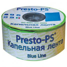 Капельная лента Blue line d-16 через 15 см (Presto-PS)