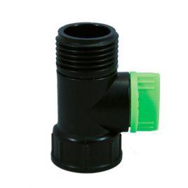 Кран одинарный 4030 с внутренней и наружной резинкой диаметром 3/4 (Presto-PS)