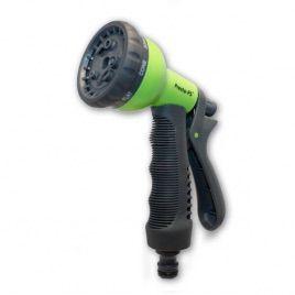 Пистолет зеленый 7202G для полива 8 режимов (Presto-PS)