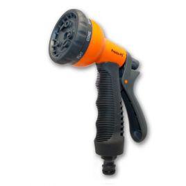 Пистолет оранжевый 7202 для полива 8 режимов (Presto-PS)