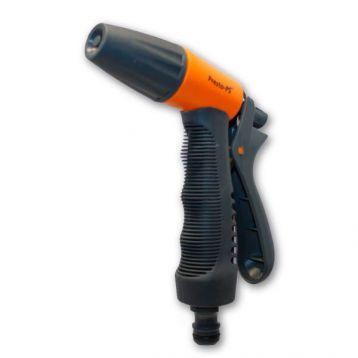Пистолет оранжевый 7208 для полива прямой 4 режима (Presto-PS)