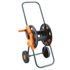 Тележка с колёсами 3701 чёрная 45м. шланга диаметром 1/2 (Presto-PS)