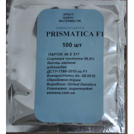 Призматика F1 семена арбуза тип кр.св. раннего 65-70 дн. 11-13 кг удл. (United Genetics)