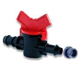 Кран с резинкой для трубки d-16 мм (Presto-PS)