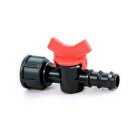 Кран с 3/4 внутренней резьбой для трубки 20 мм. (Presto-PS)