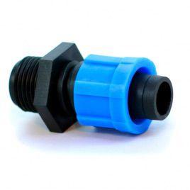 Стартер c 1/2 наружной резьбой для капельной ленты (Presto-PS)