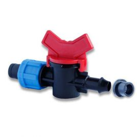 Кран с резинкой для капельной ленты OV-031708-R (Presto-PS) НЕТ ТОВАРА