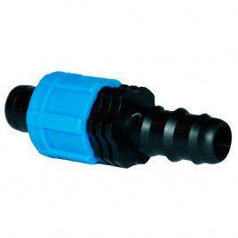 Пререходник с Трубки 16 мм. на капельную ленту (Presto-PS)