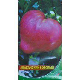 Абаканский розовый семена томата индет. раннего 102-105 дн. сердц. 250-300 гр. роз. (Элитный ряд)