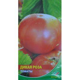 Дикая роза семена томата индет. раннего 107-110 дн. окр.-припл. 300-400 гр. роз. (Элитный ряд)