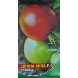 Донна Анна F1 семена томата полудет. раннего 93-98 дн. окр. с носиком 180-200 гр. (Элитный ряд)