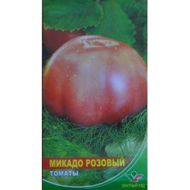 Микадо розовый семена томата индет. среднего 105-110 дн. окр.-припл. 200-300 гр. роз. (Элитный ряд)
