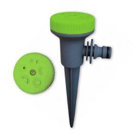 Вертушка 8108G зеленая на 5 режимов полива