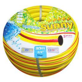Шланг Sunny Радуга желтая d-18 мм (Evci Plastik/PS)