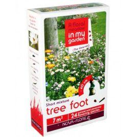 Прикорневая зона деревьев гномики на 30 кв. м семена цветочной смеси (Nova Flore)