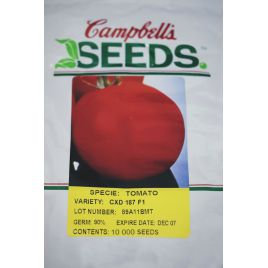 CXD 187 F1 семена томата дет (Cambells Seeds)