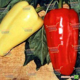 Джипси F1 (Gypsy F1) семена перца сладкого тип Венгерский раннего 58-62 дн. конич. 90-120г. 10х6см 5-6мм зел.-желт./красн. (Semi