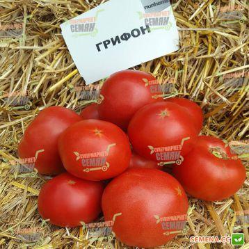 Грифон F1 семена томата индет. раннего 95-100 дн. окр.-припл. 220-250 гр. роз. (Bayer Nunhems)