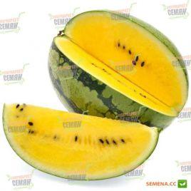 Оранж Кинг F1 семена арбуза с желтой мякотью (NongWoo Bio)