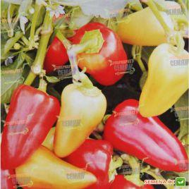 AMG 8075 F1 семена перца сладкого раннего 65-70 дн. молоч./красн. конич. (AMG) СНЯТО С ПРОИЗВОДСТВА
