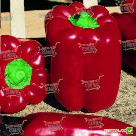 Вивальди F1 семена перца сладкого раннего 60-62 дн. зел./красн. кубов. (Vilmorin)