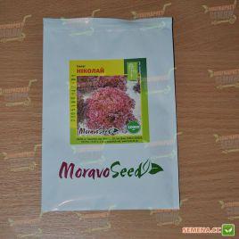 Николай семена салата тип Лолло Росса среднераннего 60-70 дн (Moravoseed)
