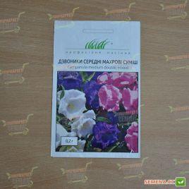 Колокольчики средние махровые смесь семена (Hem Zaden ПН)