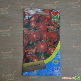 Астра низкая красная семена однол. (Moravoseed)
