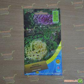 Капуста декоративная смесь семена однол. (Moravoseed)