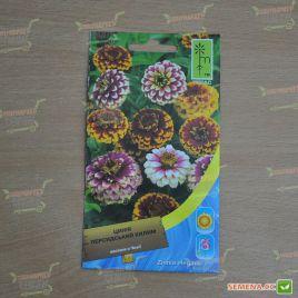 Цинния персидский ковер смесь семена однол. (Moravoseed)