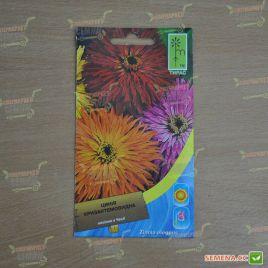 Цинния хризантемовидная смесь семена однол. (Moravoseed)
