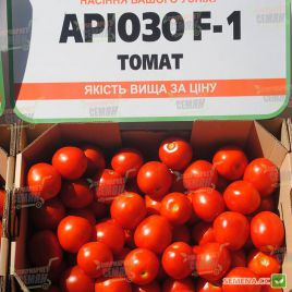 Ариозо F1 семена томата дет. среднераннего 90-95 дн. овал. 50-60г (Lucky Seed)