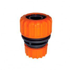 Соединение для шланга 5708 оранжевый диаметром 1/2 и 3/4 (Presto-PS)