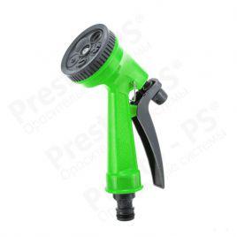 Пистолет для полива зеленый 7209 пластик на 5 режимов (Presto-PS)